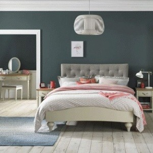 Bentley Designs Montreux Pale Oak & Antique White Bedroom