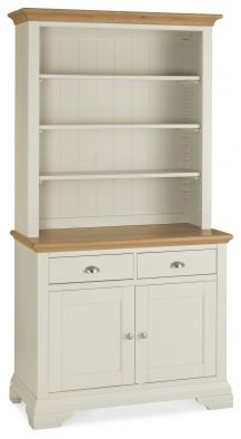 Bentley Designs Hampstead Soft Grey Pale Oak Dresser Brentham