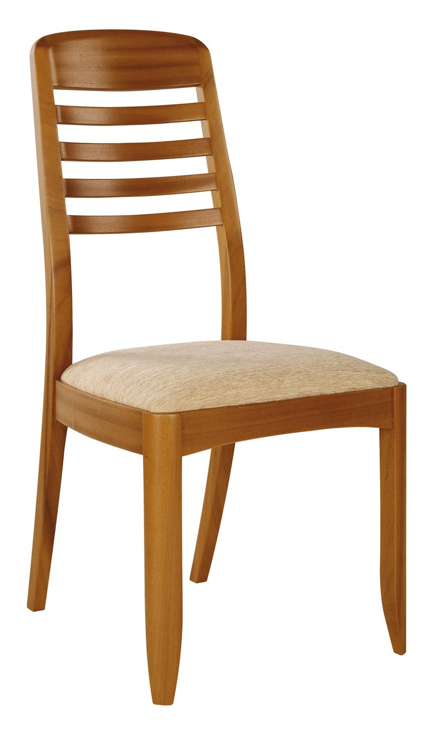 Nathan Furniture Nathan 3814 Teak Ladder Back Dining Chair