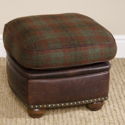 Tetrad Harris Tweed Montrose Stool