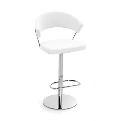 Connubia Calligaris New York Bar Stool Leather