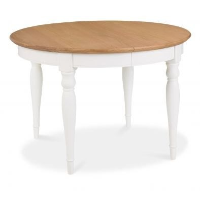 Bentley Designs Hampstead Two Tone 4-6 Extension Table
