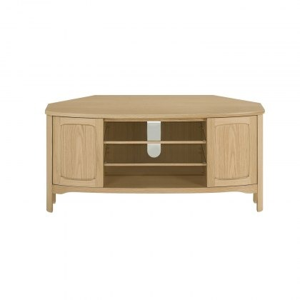 Nathan 5875 Shades Oak Shaped Corner TV Unit
