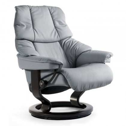 Stressless Reno Small Chair With Classic Base (No stool)