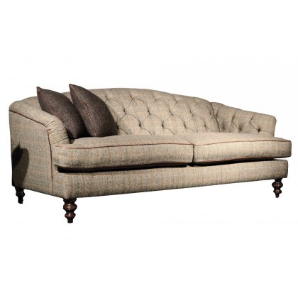 Tetrad Harris Tweed Dalmore Petit Sofa - Option A (Tweed)