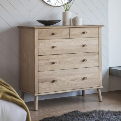 Gallery Frank Hudson Wycombe 5 Drawer Chest