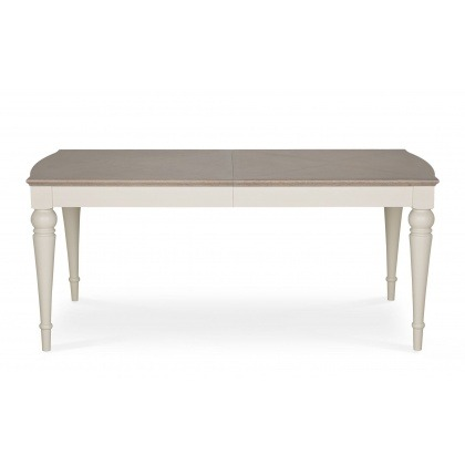 Bentley Designs Montreux Grey Washed Oak & Soft Grey 6-8 Extension Table