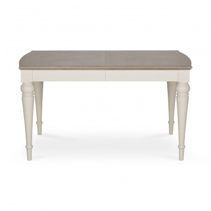 Bentley Designs Montreux Grey Washed Oak & Soft Grey 4-6 Extension Table