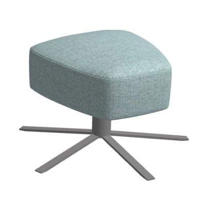 Fama Kylian Footstool With Swivel Base