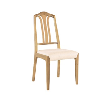 Nathan 3115 Shades Oak Slat Back Dining Chair