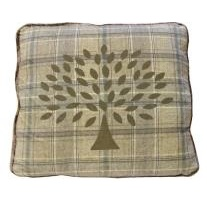 Mulberry Tree Symbol Scatter Cushion