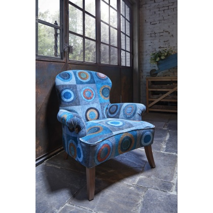 Tetrad Mulberry Arundel Chair - Dress Circle Teal