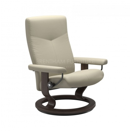 Stressless Dover Small Chair Only - Classic Base