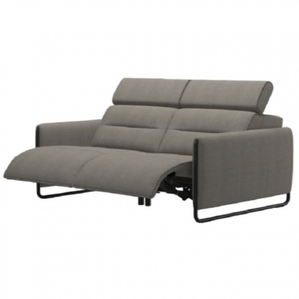 Stressless Emily Powered 2 Seater Sofa With Steel Legs