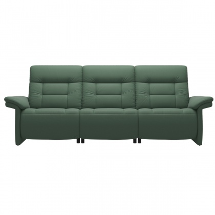 Stressless Mary 3 Seater Sofa With 2 Power Seats - Upholstered Arm