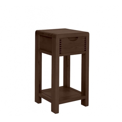 Ercol 1323 Bosco Compact Side Table - Dark Wood