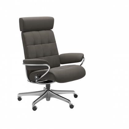 Stressless London Adjustable Headrest Office Chair