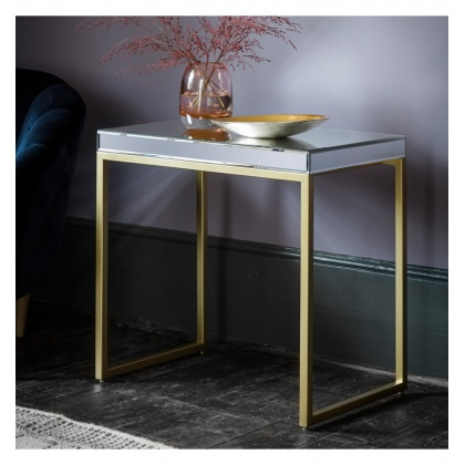 Gallery Pippard Side Table Champagne