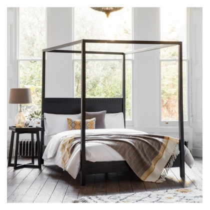 Gallery Hudson Boho Boutique 4 Poster 5' King Size Bed