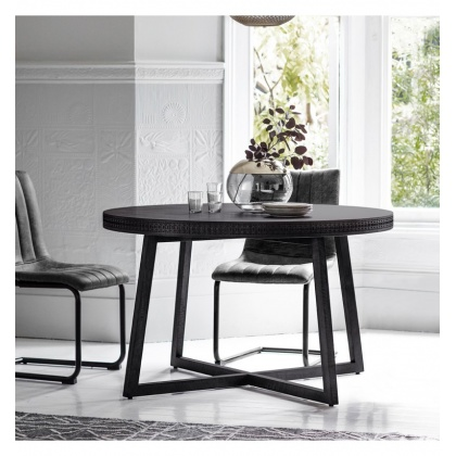 Gallery Hudson Boho Boutique Round Dining Table