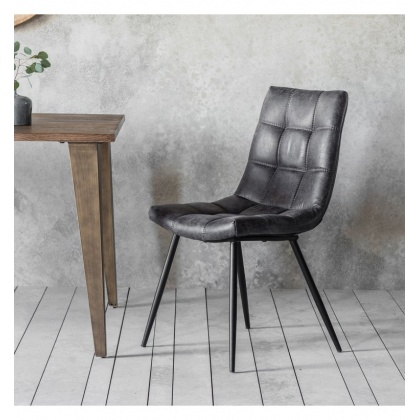 Frank Hudson Darwin Grey Chair (Pair)