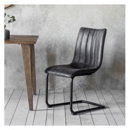 Frank Hudson Edington Grey Chair (Pair)