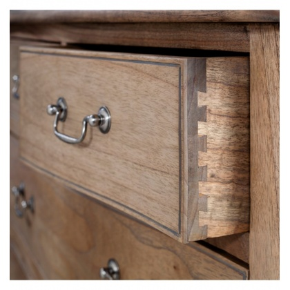 Frank Hudson Chic 5 Drawer Chest Weathered