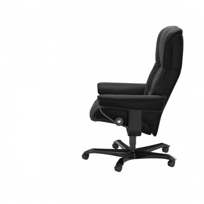 Stressless Mayfair Office Chair - Paloma Black - 3 Colours Options - Quick Ship!