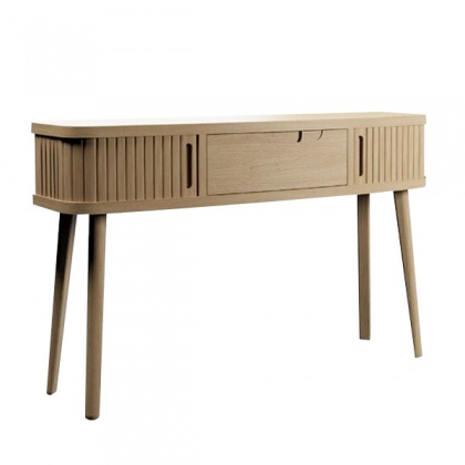 Tambour Console Table