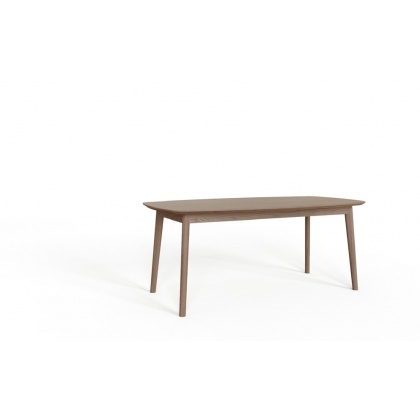 Tambour Grey Extending Dining Table
