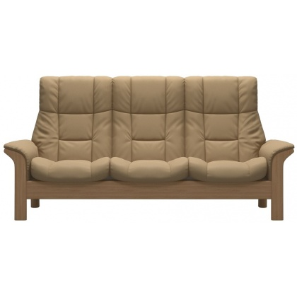 Stressless Windsor High Back 3 Seater - 3 Colours Options - Quick Ship!