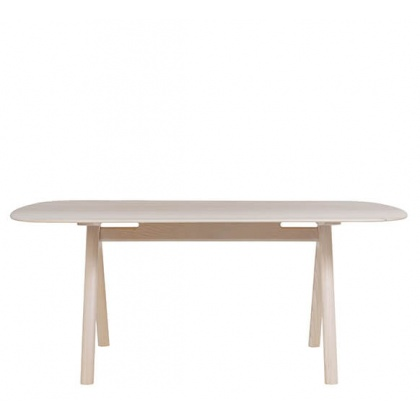 Ercol 4264 Corso Medium Dining Table - Whitened Finish