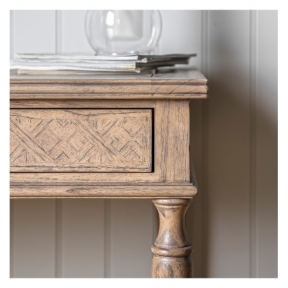 Gallery Mustique 2 Drawer Desk
