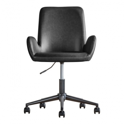 Gallery Faraday Swivel Chair Charcoal