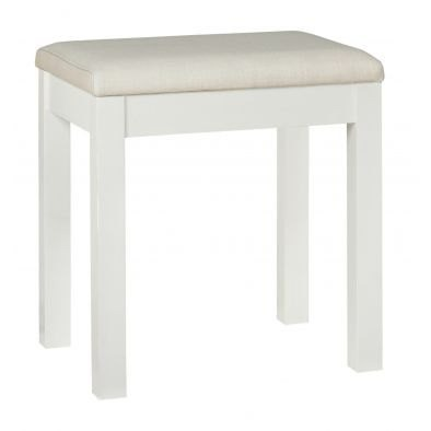 Bentley Designs Atlanta White Stool
