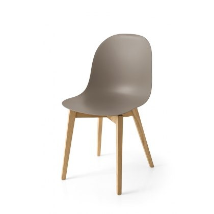 Connubia Calligaris Academy Wood Chair (PAIR)
