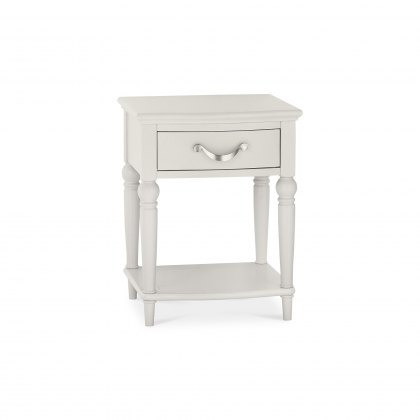 Bentley Designs Montreux Soft Grey - 1 Drawer Nightstand