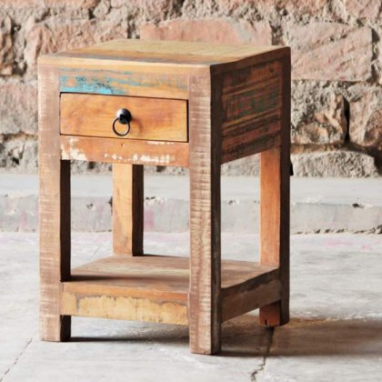 Little Tree Furniture Mary Rose Reclaimed Side Table