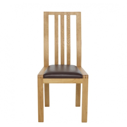 Ercol 1383 Bosco Dining Chair - Faux Leather