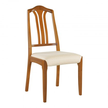 Nathan 3114 Classic Teak Slat-Back Dining Chair