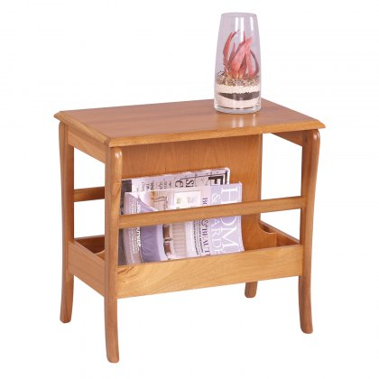 Sutcliffe Trafalgar 821 Occasional Table with Magazine Rack