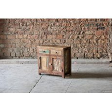 Little Tree Furniture Riya Reclaimed 2 Drawer 2 Door Sideboard