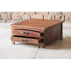 Little Tree Furniture Rustica Reclaimed Square Coffee Table