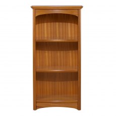 Nathan 6994 Editions Teak Mid Single Bookcase