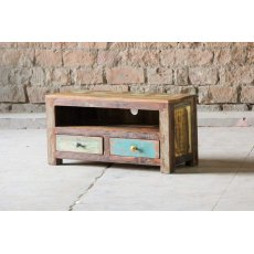 Little Tree Furniture Mary Rose Reclaimed 2 Drawer TV Unit