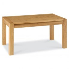 Bentley Designs Lyon Oak 6-8 End Extension Dining Table