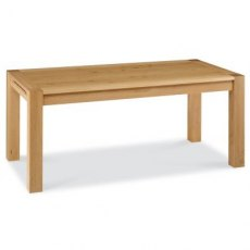 Bentley Designs Lyon Oak 6-8 Double End Extending Dining Table
