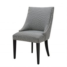 Eichholtz Bermuda Dining Chair Black & White