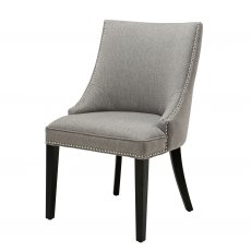 Eichholtz Bermuda Dining Chair Herringbone Brown Grey