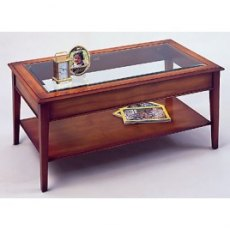Bradley 875 Glass Top Coffee Table
